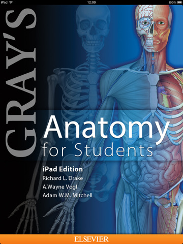 Elsevier announces Gray's Anatomy for Students app for the iPad