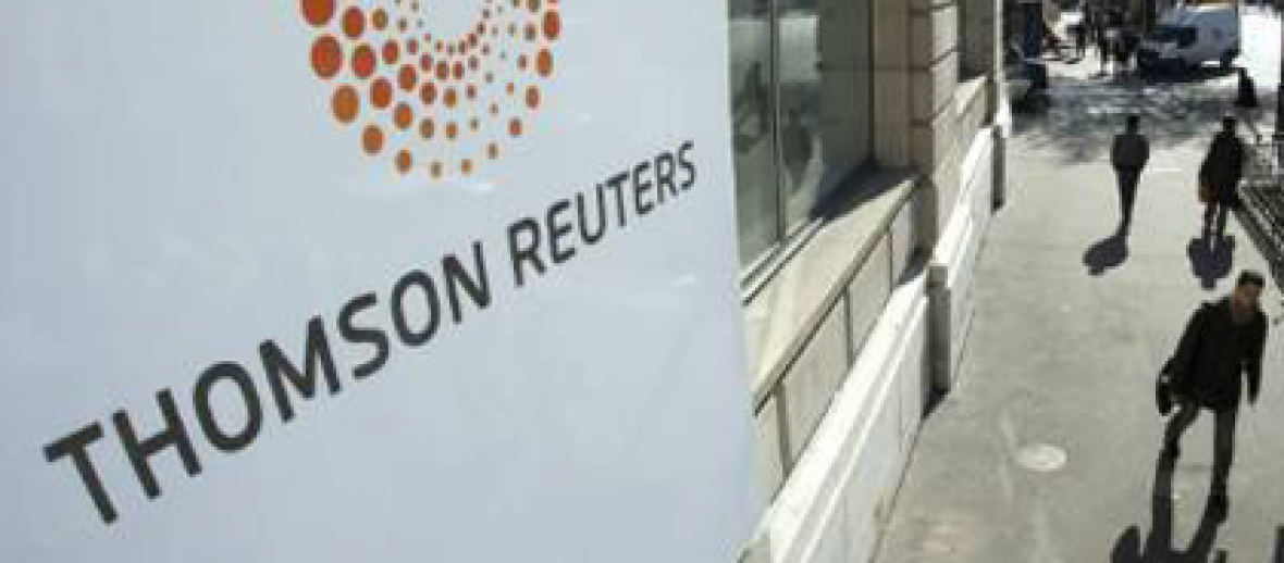 Thomson Reuters Suspends Sale Of Healthcare Business