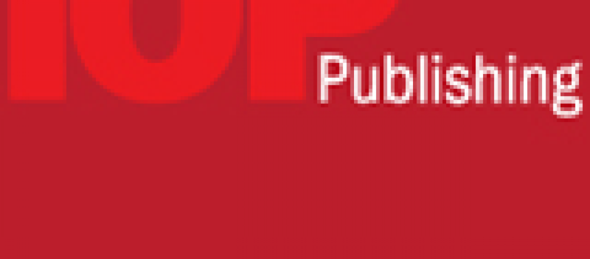 New Head of Publishing – Partner Journals, for IOP Publishing