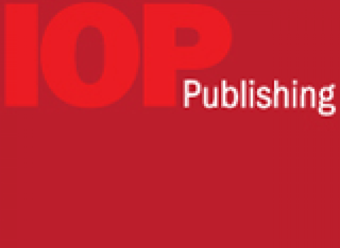 New Head of Content Management for IOP Publishing