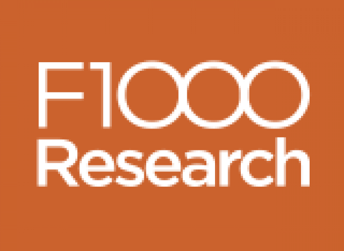 F1000Research articles will be listed in PubMed, and deposited in PubMed Central