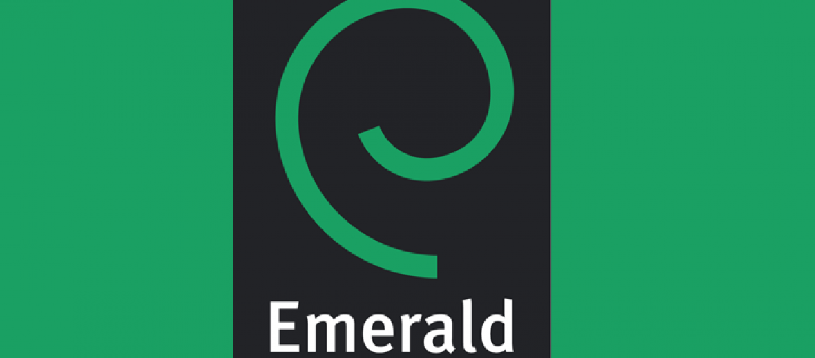 Emerald leads the way in becoming first publisher to sign up to innovative new pilot