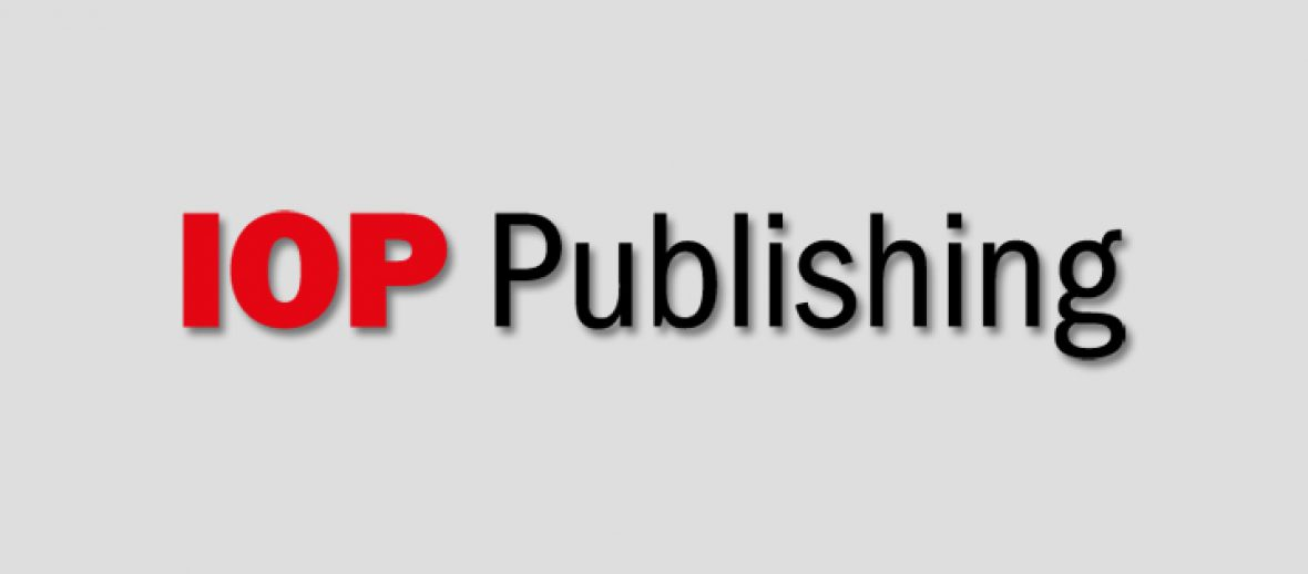 Two of IOP Publishing's journals to offer authors the choice of single or double-blind peer review from 2017