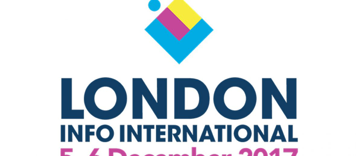 London Info International 2017 takes place in just under four weeks.