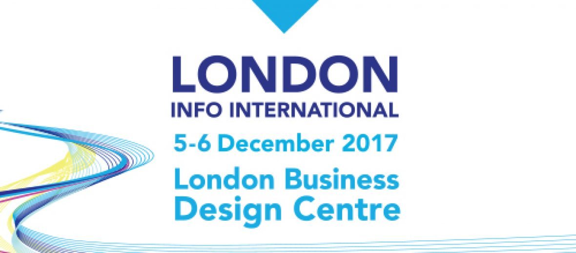 London Info International 2017 conference opens its doors in just 3 weeks.